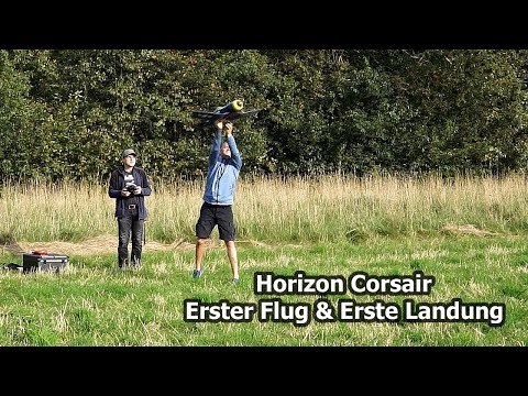 Horizon Corsair - Erster Start und Erste Landung