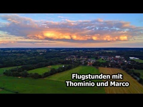 Flugstunde mit Thominio und Marco