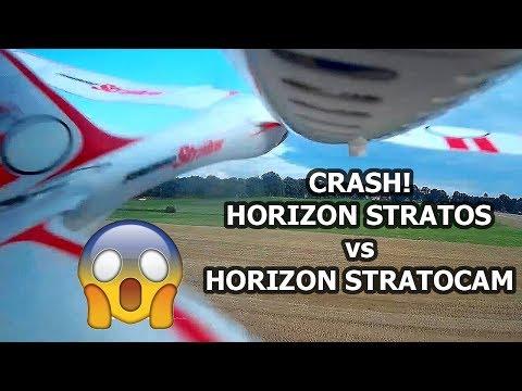 HORIZON STRATOS vs STRATOCAM CRASH