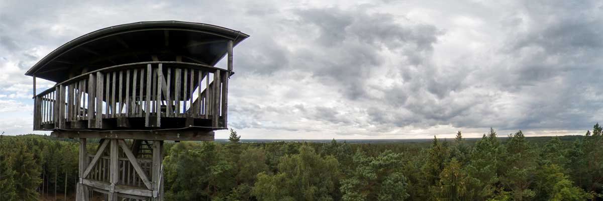Hahnheider Turm 360 Grad Panorama